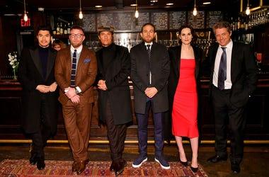 Henry Golding, Guy Ritchie, Matthew McConaughey, Charlie Hunnam, Michelle Dockery, Hugh Grant