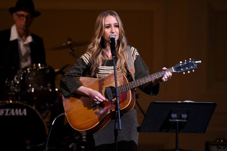 NEW YORK, NEW YORK - FEBRUARY 26: Margo Price perform on stage during the 33nd Annual Tibet House US Benefit Concert & Gala on February 26, 2020 in New York City. (Photo by Ilya S. Savenok/Getty Images for Tibet House)