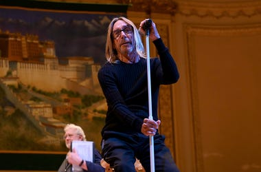 NEW YORK, NEW YORK - FEBRUARY 26: Iggy Pop rehearses on stage during the 33nd Annual Tibet House US Benefit Concert & Gala on February 26, 2020 in New York City. (Photo by Ilya S. Savenok/Getty Images for Tibet House)