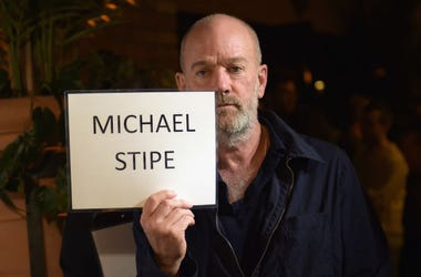 "NEW YORK, NY - OCTOBER 19: Michael Stipe attends the premiere screening and party for truTV's new comedy series ""At Home with Amy Sedaris"" at The Bowery Hotel on October 19, 2017 in New York City. 27056_024. (Photo by Jason Kempin/Getty Images)"