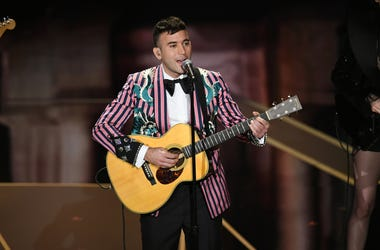 HOLLYWOOD, CA - MARCH 04: Musician Sufjan Stevens performs onstage during the 90th Annual Academy Awards at the Dolby Theatre at Hollywood & Highland Center on March 4, 2018 in Hollywood, California. (Photo by Kevin Winter/Getty Images)