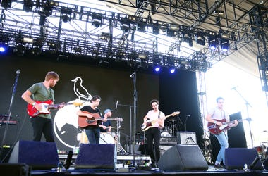 INDIO, CA - APRIL 22: Rolling Blackouts Coastal Fever perform onstage during the 2018 Coachella Valley Music And Arts Festival at the Empire Polo Field on April 22, 2018 in Indio, California. (Photo by Rich Fury/Getty Images for Coachella)