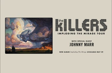 The Killers with special guest Johnny Marr