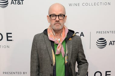 Michael Stipe attends a screening of 'State Like Sleep' during the 2018 Tribeca Film Festival