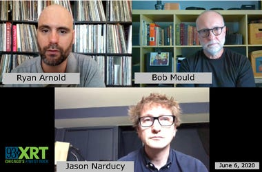 "Bob Mould and Jason Narducy talk with Ryan Arnold about ""American Crisis"""