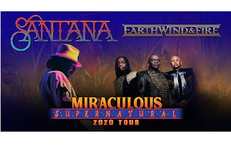 Santana  Earth, Wind,  Fire