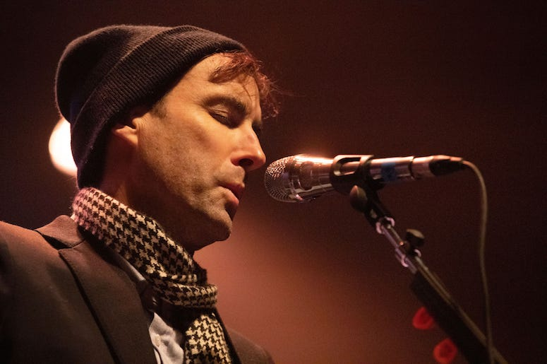 Andrew Bird performs live in concert at the 93XRT Holiday Jam.