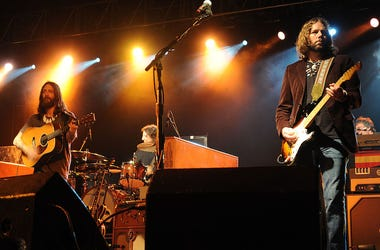 Chris & Rich Robinson of The Black Crowes perform live in concert.