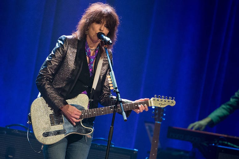 Chrissie Hynde of the Pretenders performs live in concert