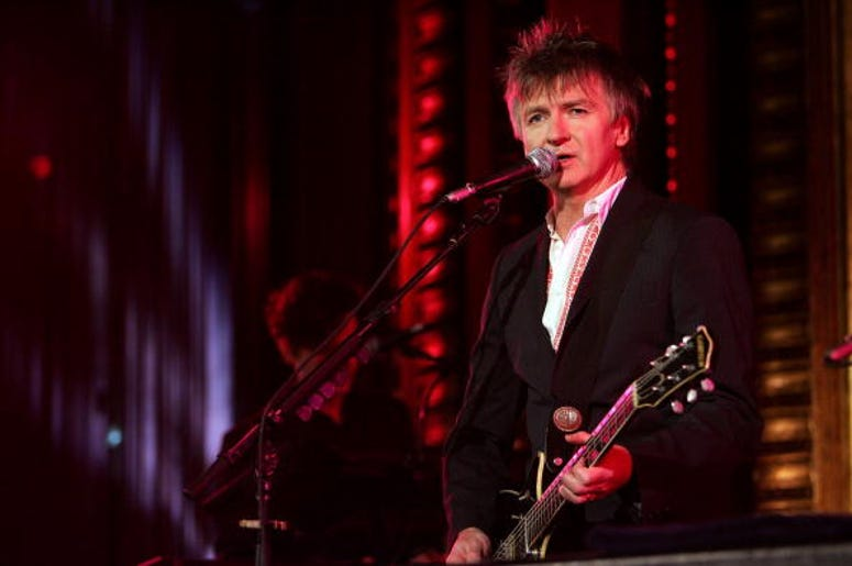 NEW YORK - JULY 19:  Neil Finn of the band Crowded House performs onstage at the Masonic Temple on July 19, 2007 in New York City.  (Photo by Bryan Bedder/Getty Images)