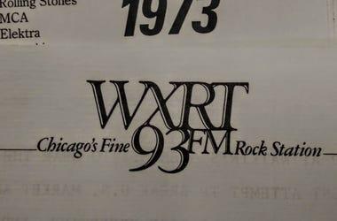 WXRT 1973 Logo