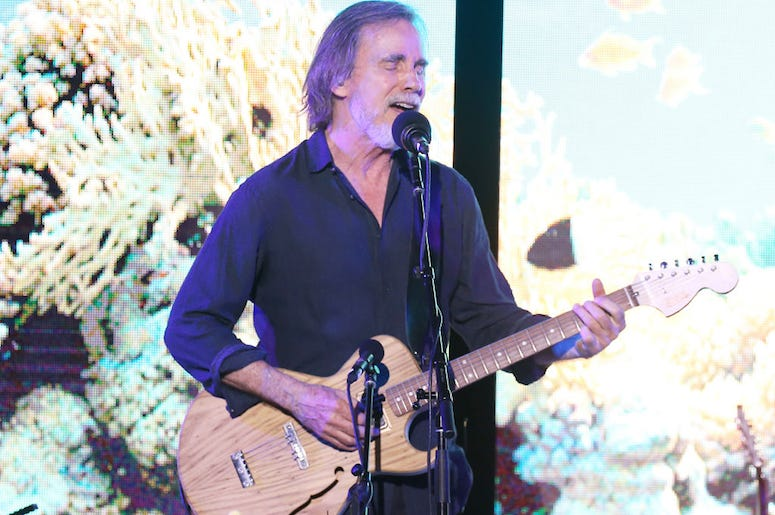 Jackson Browne performs live in concert.