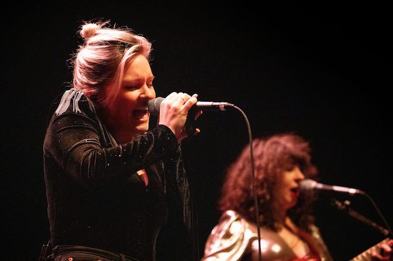 Joseph live in concert at the 93XRT Holiday Jam