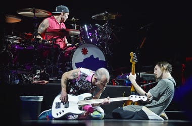 Josh Klinghoffer & Flea of Red Hot Chili Peppers perform live in concert.