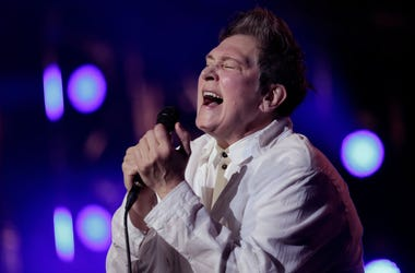 K.D. Lang performs live in concert.