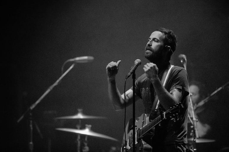 Mondo Cozmo performs at the 93XRT Holiday Jam concert.
