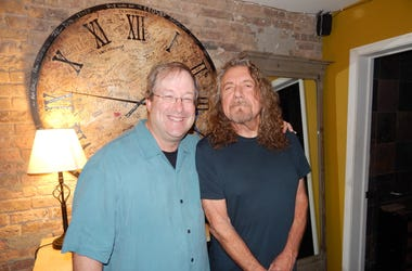 Robert Plant of Led Zeppelin and Lin Brehmer