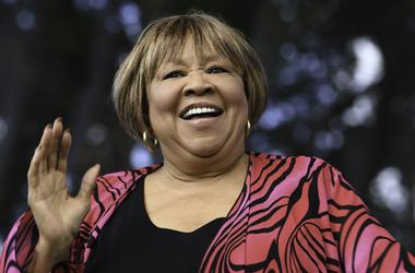 Jan 15, 2016; Boca Raton, FL, USA; Mavis Staples performs during the Sunshine Music Festival at the Mizner Amphitheater. Mandatory Credit: Ron Elkman/USA TODAY NETWORK