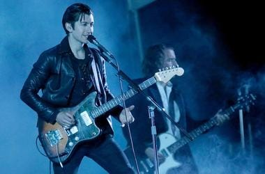Alex Turner of The Arctic Monkeys