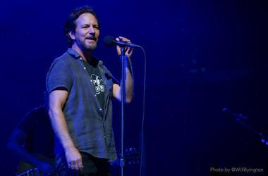 Pearl Jam At Wrigley Field
