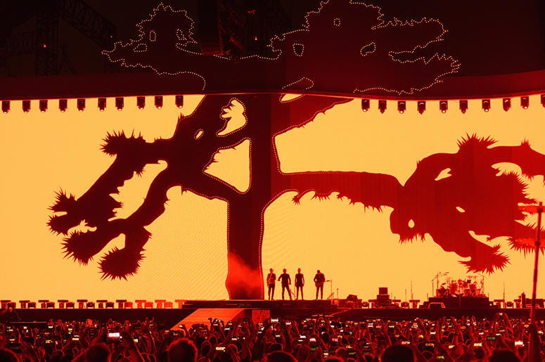 U2 Live In Chicago