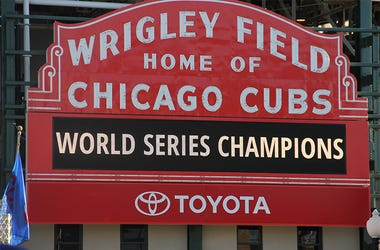 Chicago Cubs Wrigley Field Marquee