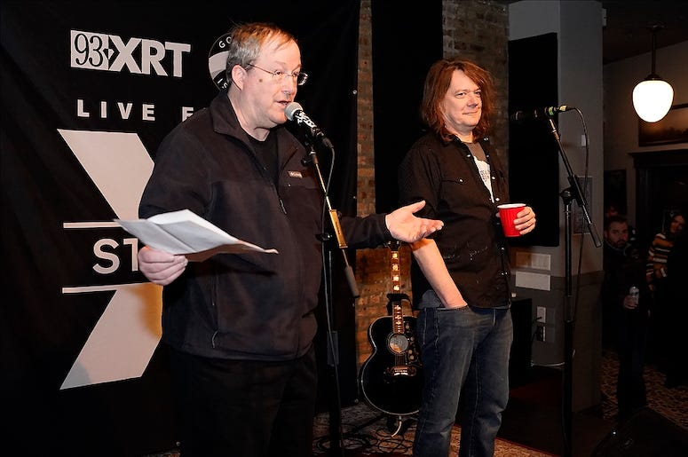 Soul Asylum performs at WXRT's Live From Studio X concert series.