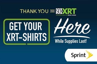 Listener Appreciation T-Shirt Drop Sprint