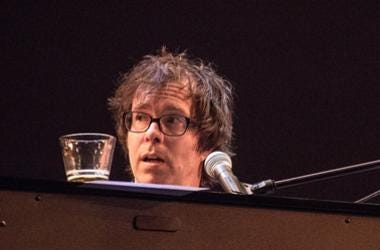 Ben Folds performing with the yMusic Sextet on stage at the Royal Opera House in London (Photo by PA Images/Sipa USA)