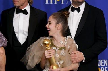 Brad Pitt, Julia Butters, Leonardo DiCaprio