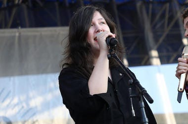 Lucy Dacus performs live in concert.