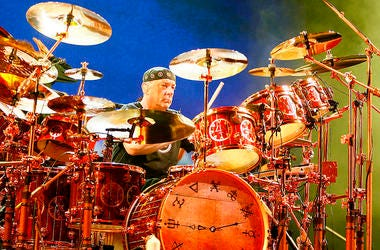 Neil Peart of Rush.