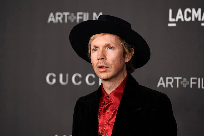 LOS ANGELES, CALIFORNIA - NOVEMBER 02: Beck attends the 2019 LACMA 2019 Art + Film Gala Presented By Gucci at LACMA on November 02, 2019 in Los Angeles, California. (Photo by Frazer Harrison/Getty Images)