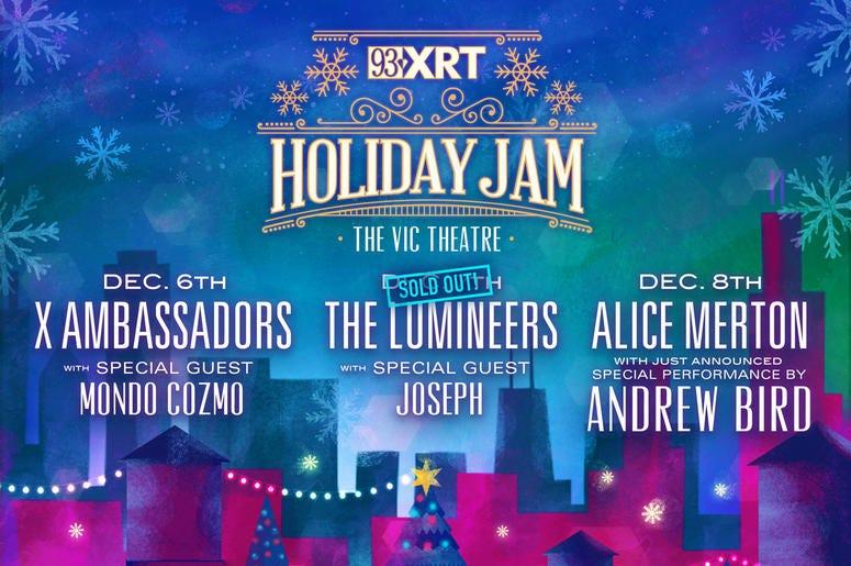 93XRT Holiday Jam