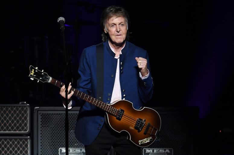 July 7, 2017; Miami, FL, USA; Paul McCartney performs at the American Airlines Arena. Mandatory Credit: Ron Elkman/USA TODAY NETWORK