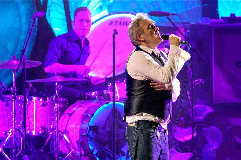 Morrissey performs at Ravinia Festival in 2019.