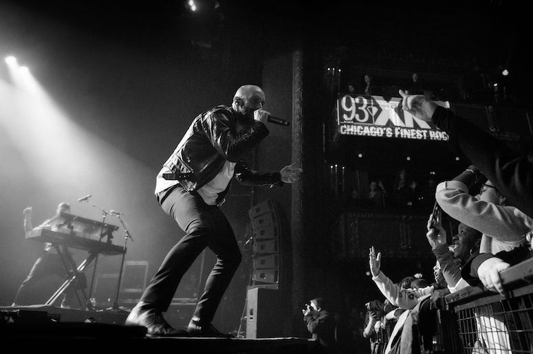 X Ambassadors perform live in concert at the 93XRT Holiday Jam.