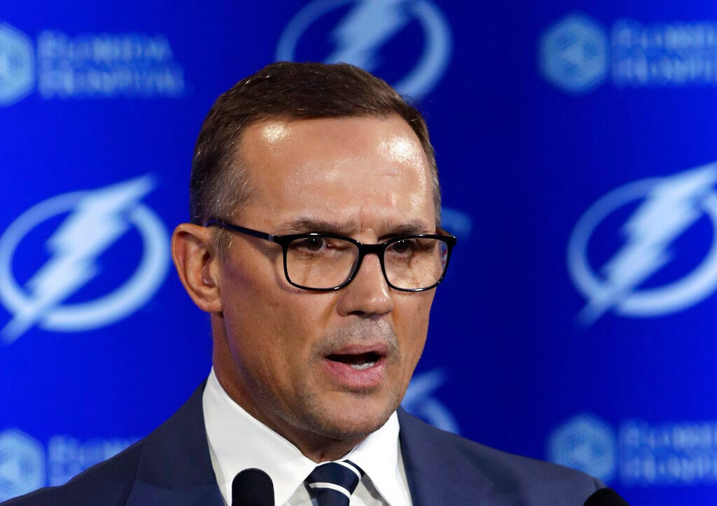 Mike Valenti: 'Yzerman Is Going To Be Everything That Harbaugh Was Supposed To Be' - 97.1 The Ticket thumbnail