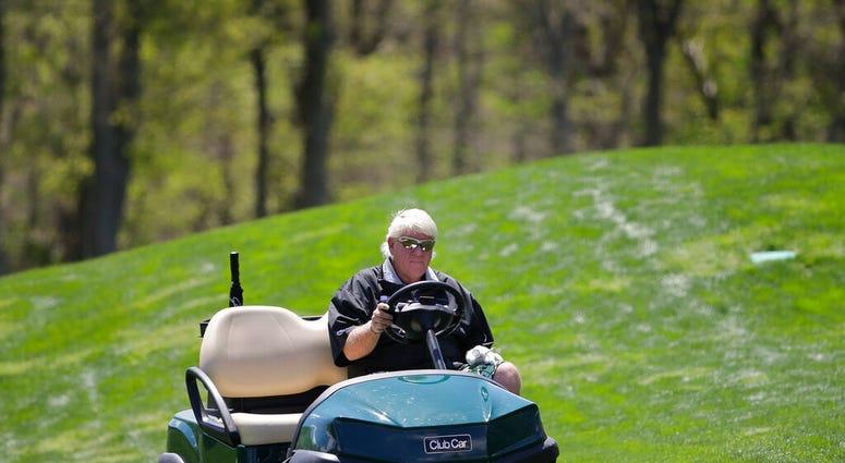 John Daly, Golf Cart