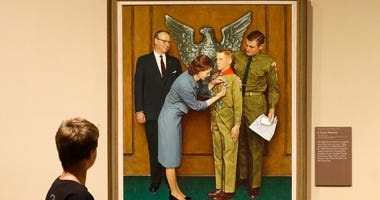 Boy Scout-themed Norman Rockwell paintings
