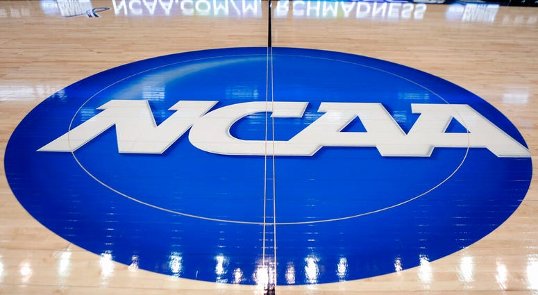 NCAA Tournament basketball court