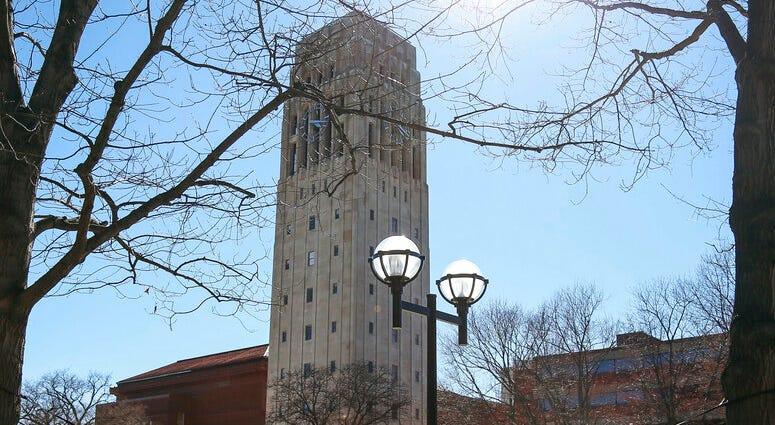 Burton Tower on the University of Michigan campus