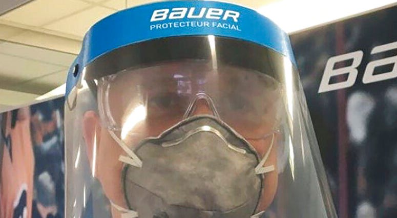 Bauer Hockey Corp.medical face shield