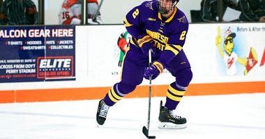 Minnesota State defenseman Connor Mackey