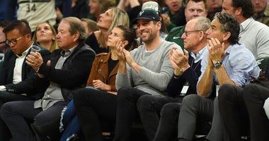 Danica Patrick, Aaron Rodgers,  Green Bay Packers