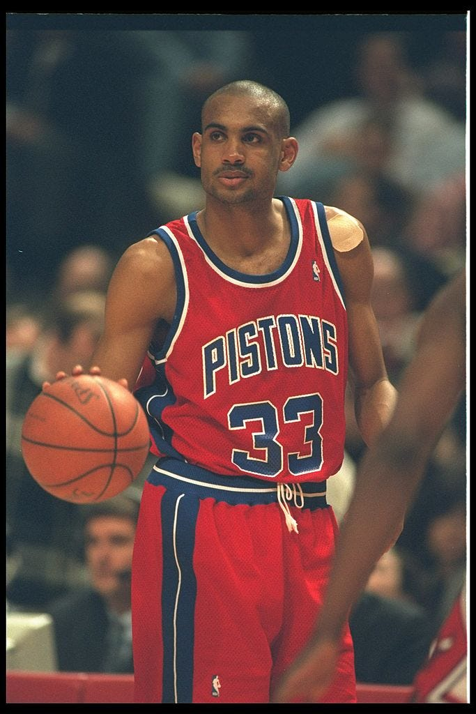 Grant Hill (red uniform)
