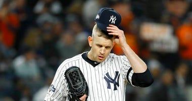 New York Yankees starting pitcher James Paxton
