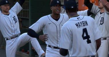 MLB The Show Detroit Tigers Virtual Matchups