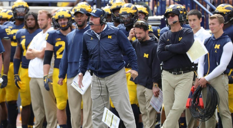 Michigan's Latest Commit Has Harbaugh, Don Brown Doing Cartwheels [VIDEO]