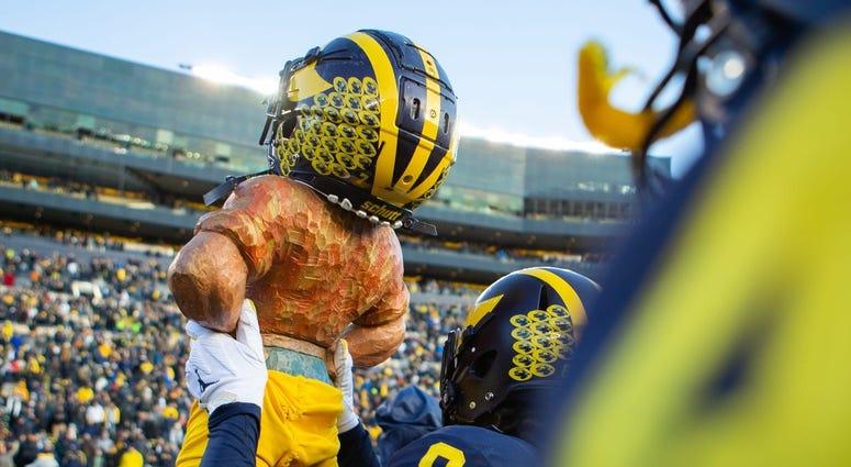 Michigan Football Paul Bunyan Trophy